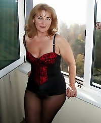 Sexy older mature amateurs in lingerie II