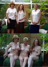Amateur Wives Dressed & Undressed 7