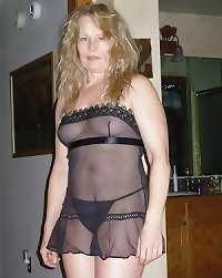 Mature women in See Through, See Thru clothes 2