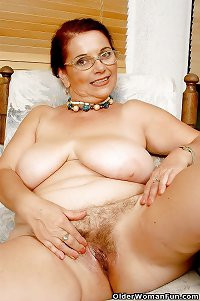 56 year old granny Bonny from OlderWomanFun